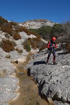 Barranco del Formiga superior