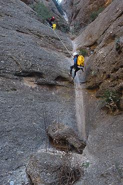 Afluente 1 del Barranco de Alpán