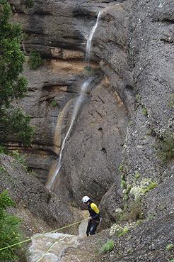 Afluente 1 del Barranco Argatín superior