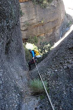 Entrada 2 del Barranco de Lumos