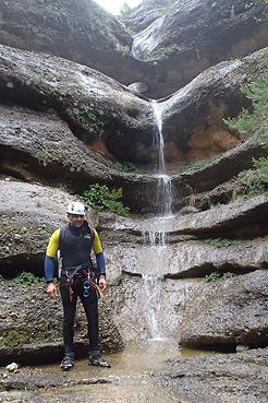 Afluente 2 del Barranco Argatín superior